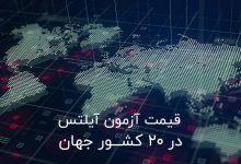هزینه آزمون آیلتس 2019 در ایران و سایر کشورها