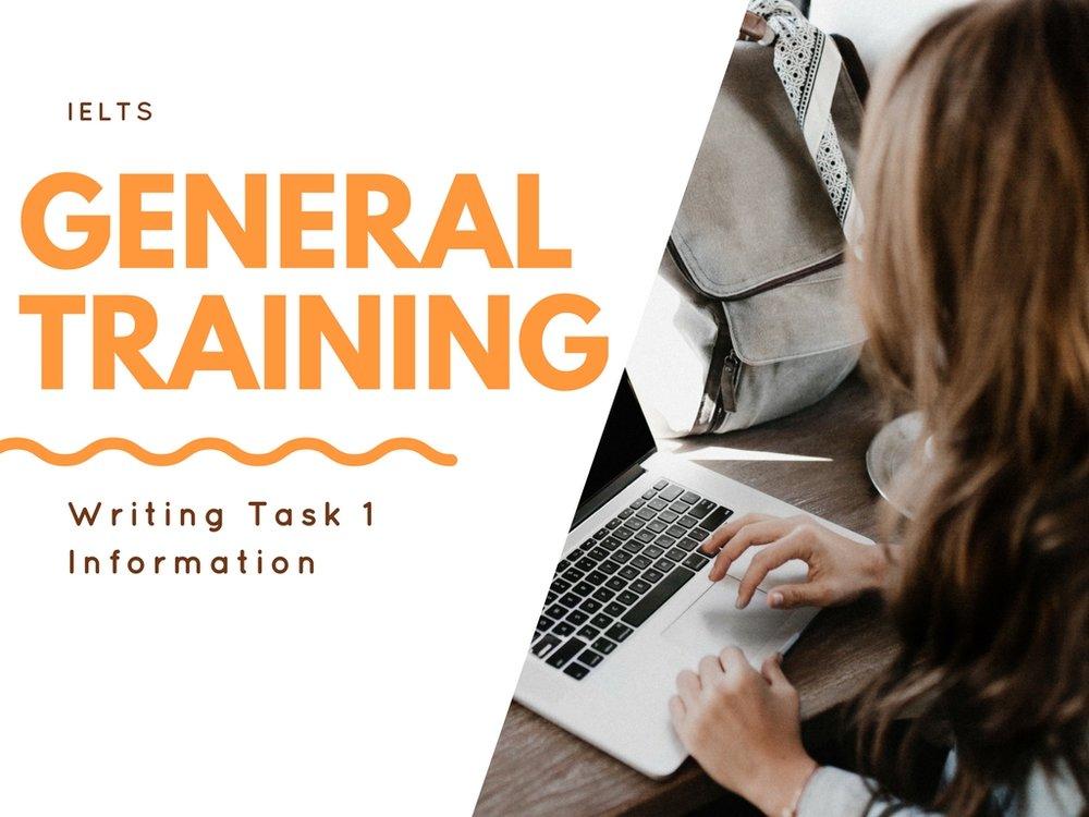 کارگاهتخصصیWriting-Task1- General Training